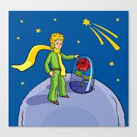 the little prince Canvas Prints featuring Little prince by Dennis Morgan