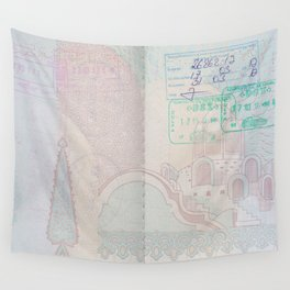 Passport Wall Tapestry