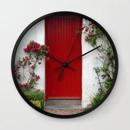 Charming - An Irish Cottage Wall Clock