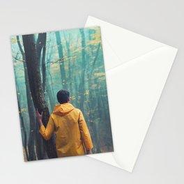 Der Wanderer und der Nebel Stationery Cards