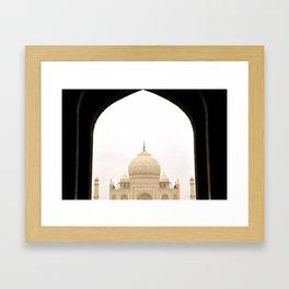 The Taj Framed Art Print