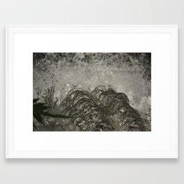 Over the Edge. Framed Art Print