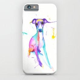 June (The Italian Greyhound) iPhone Case