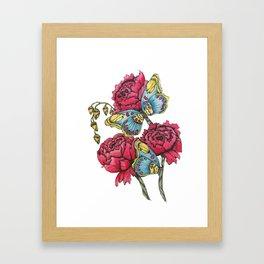 Color Flutter II Framed Art Print