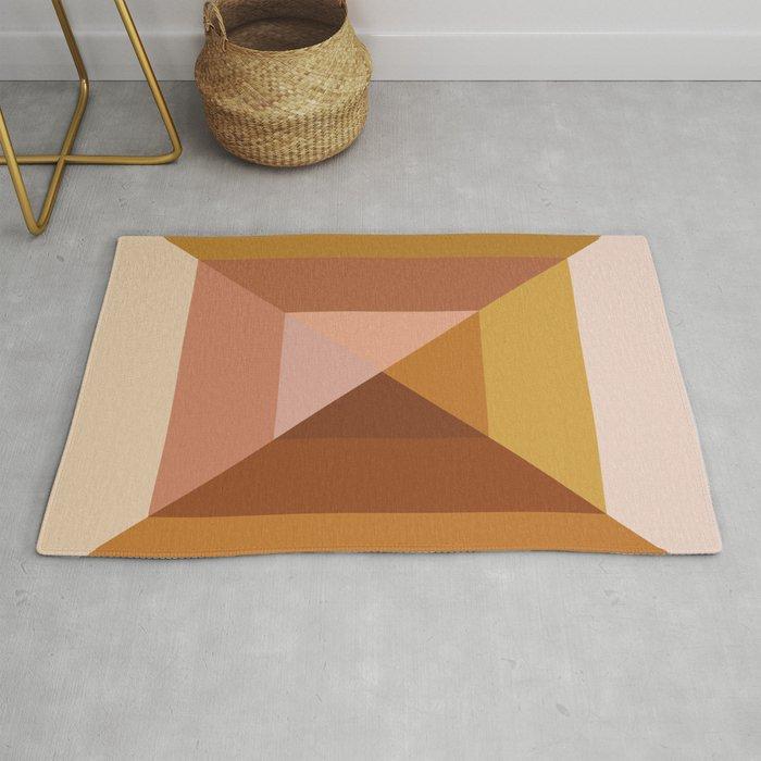 Mod Abstract Geometry Rug