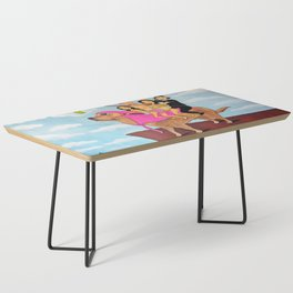 Riding Durte: Living On The Edge Coffee Table