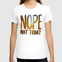 nope T-shirts featuring Nope by Trend