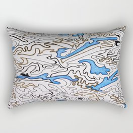 Abstract Pattern #1 Rectangular Pillow