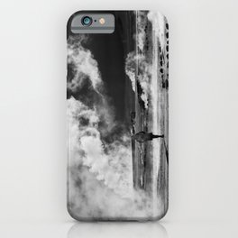 Walking into Fire iPhone Case