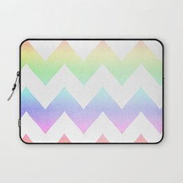 Watercolor Chevrons Laptop Sleeve