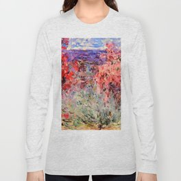 "Claude Monet ""Flowering Trees near the Coast"", 1926 Long Sleeve T-shirt"