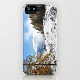 The Confluence Of The Seasons iPhone Case