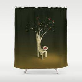 Strawberry Guava Tree Shower Curtain