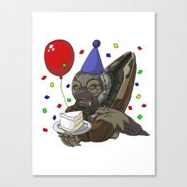 Grunt Birthday Party! Canvas Print