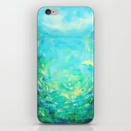 Undersea. Dolphins life iPhone Skin