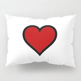Full Heart Pillow Sham