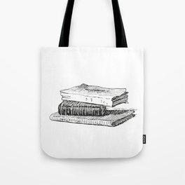 Books 3 Tote Bag