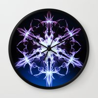stargate Wall Clocks featuring Stargate by Françoise Reina