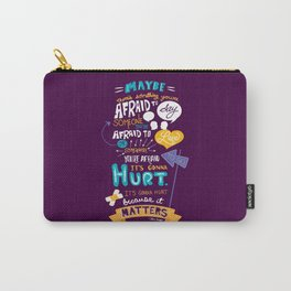 """""""Maybe there's something..."""" Carry-All Pouch"""