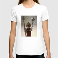 gladiator T-shirts featuring Gladiator 'Cracalla the Gladiator' LEGO Custom Minifigure by Chillee Wilson by Chillee Wilson [Customize My Minifig]