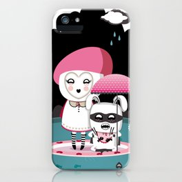 Super Tofu Boy and Sweet Sweet Tofu iPhone Case
