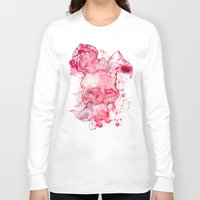 psychology Long Sleeve T-shirts featuring Mr Bunny by hoploid
