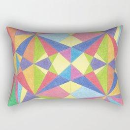 KKP 002 - Crystal imagination Rectangular Pillow