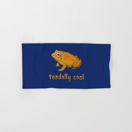 Toadally Cool Psychedelic Toad Hand & Bath Towel