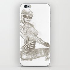 Cyber Chick iPhone & iPod Skin
