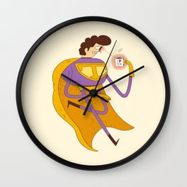Man of Tea Wall Clock
