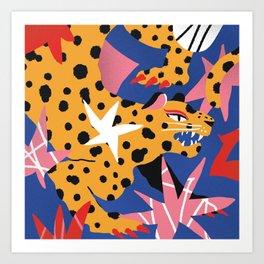 MUSA PINTADA Art Print