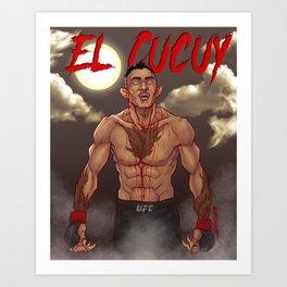 Tony Gerguson - El Cucuy Art Print
