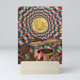 Scorpio moon Mini Art Print