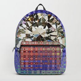 Diamond in Multi-Coulors Backpack