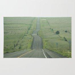 The road ahead Rug