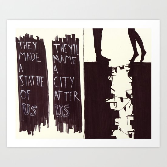 Us Art Print
