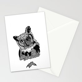 OWL EYES Stationery Cards