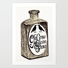Old Crow Medicine Show Tonic Art Print