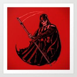 DeathVader Art Print