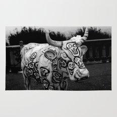 Skull Cow Rug
