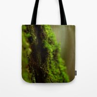 moss Tote Bags featuring Moss by SachelleJuliaPhotography