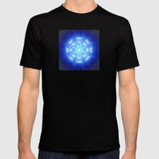 Come with me MEDIUM Mens Fitted Tee Black