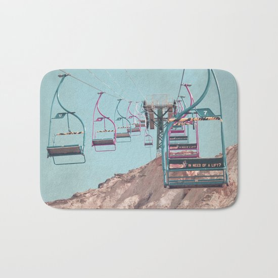 into the sky... Bath Mat