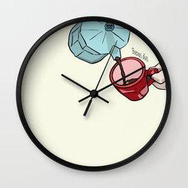 Buenos  días Wall Clock