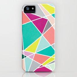 Geometric Spotlights iPhone Case
