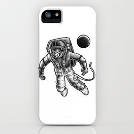 Death in space iPhone Case