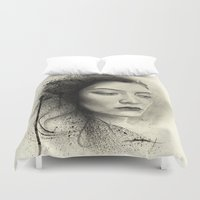 lorde Duvet Covers featuring Lorde by Creadoorm