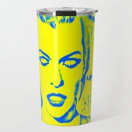 Milla Jovovich Pop Art Travel Mug