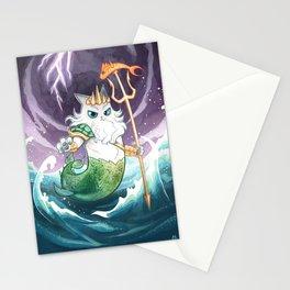 Purrseidon Stationery Cards