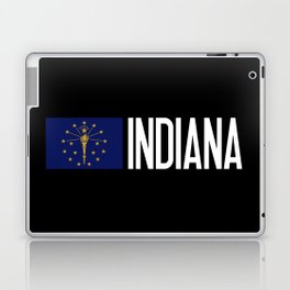 Indiana: Hoosier Flag & Indiana Laptop & iPad Skin